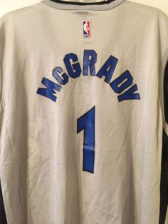 tracy mcgrady jersey size xl orlando magic #NBA fan apparel vintage from $19.99