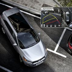 Maneuver in and out of tight spaces with ease in the Kia Sorento. http://www.kia.com/us/en/vehicle/sorento/2016/experience?story=hello