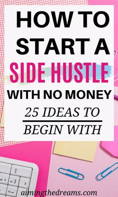 How to start a side hustle along with full-time jobs. Start these side-hustle ideas and make money while staying at home. hustle ideas at home Make Money From Home, Way To Make Money, Make Money Online, Budgeting Finances, Budgeting Tips, Legitimate Work From Home, Making Extra Cash, Earn More Money, Money Management