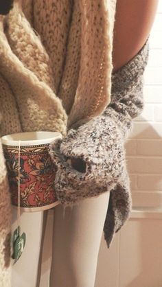 The season has come for cozy sweaters and warm cups of tea