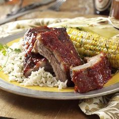 Best Baby-Back Ribs Recipe from Taste of Home -- shared by Rick Consoli of Orion, Michigan