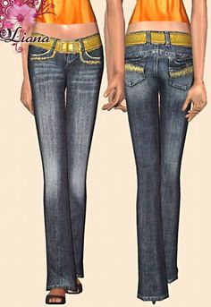 Liana Sims 2 - Preview - Women's clothing - Bottom -