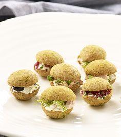 Sour Cream Macarons #linkosuo #RuisSipsit #macarons #suolapala