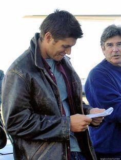 Jensen - BTS of 1x04 Phantom Traveler