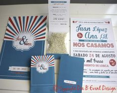 5 ideas creativas para tus invitaciones de boda #boda #ideas #invitaciones
