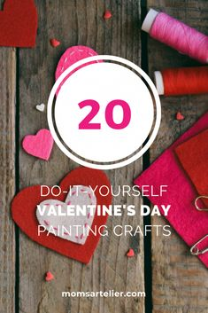 Get crafty with your kids during the month of love with these fun Valentine's Day Crafts that you can do with your kids. Valentine's Day Crafts For Kids, Baby Crafts, Toddler Crafts, Gifts For Kids, Upcycled Crafts, Easy Diy Crafts, Creative Crafts, Fun Crafts, Valentines Day Messages