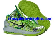 ce23ff08930 Pas Cher KD V vert Blanc couleur noire 554988 402 Nike Zoom Kevin Durant  Chaussures 2013