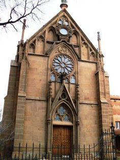 The Loretto Chapel is a Gothic Church constructed in 1873-1878 - Santa Fe NM