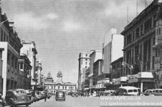 Main Street 1953 Main Street, Street View, Port Elizabeth, My Heritage, Historical Pictures, South Africa, City, Image, Historical Photos