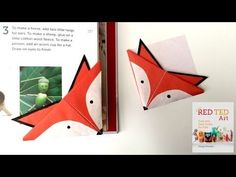 Fox Corner Bookmarks – Red Ted Art's Blog
