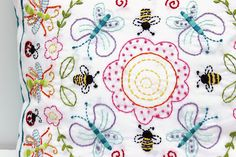 Jennifer Jangles Blog: Embroidery Stitch A Long Recap