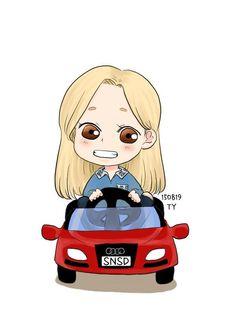 ( ˘ ³˘)♥~➌➒ @309KTYSS Fanart / Driver Taeyeon by zicsong
