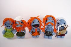 Wee Free Men and woman by LunasCrafts on Etsy, $10.00