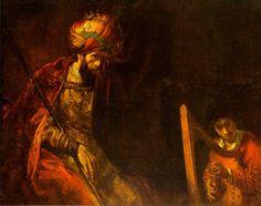 arpa mágica – (para el esfuerzo y constancia) Rembrandt - King Saul with DavidRembrandt - King Saul with David David And Saul, Rey David, King David, List Of Paintings, Kings Of Israel, Religious Paintings, Baroque Art, Biblical Art, Dutch Painters