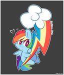 Cutie Mark - Rainbow Dash by ILifeloser