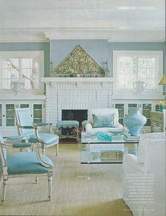 Tiffany Blue Living Room Color Azul Stiles Rooms Walls