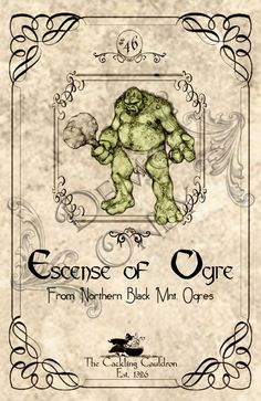 Escence-of-Oger-Label (a_granger) Tags: autumn halloween book magick label magic spell haunted labels apothecary cauldron charms potions spells potion cackling halloweendecorations curses spellbook hexes apothecarylabels potionlabels