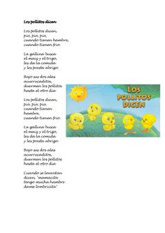 Cancionero infantil Escuela Bibichu Poetry For Kids, Morning Songs, Teaching Spanish, Toddler Crafts, Nursery Rhymes, Preschool, Baby Shower, Education, Learning