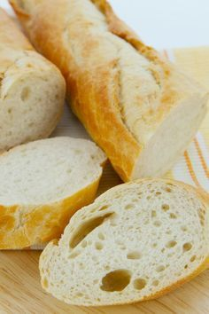 Gluten Free French Bread - This french bread is amazing!! It tastes so similar to the wheat containing french bread. Plus it freezes wonderfully!!! It's crusty on the outside, and soft and tender within,, You can make it from start to finish in about one hour!