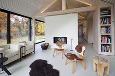 Brouwhuis Oisterwijk / Bedaux de Brouwer Architecten – nowoczesna STODOŁA | wnętrza & DESIGN | projekty DOMÓW | dom STODOŁA