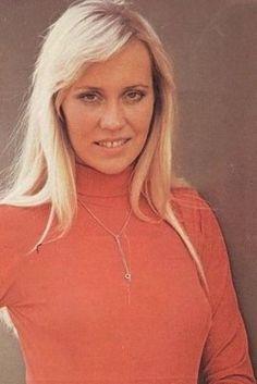 Agnetha Fältskog of ABBA.