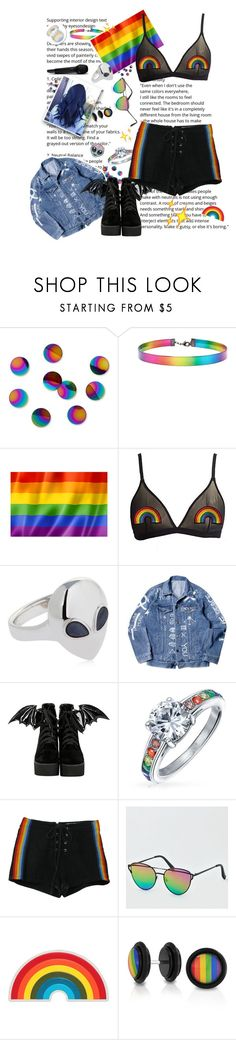 """""""✨👽✨"""" by taaniia ❤ liked on Polyvore featuring Umbra, Forever 21, Alina Abegg, Iron Fist, Bling Jewelry, Retrò, American Eagle Outfitters, Anya Hindmarch and Too Faced Cosmetics"""