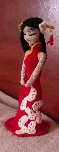 Chinese Princess - CROCHET