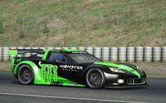 Assetto Corsa - Corvette C6R 2013 - Barcelona
