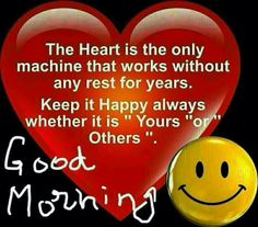 the Heart = the only machine! GM!!!