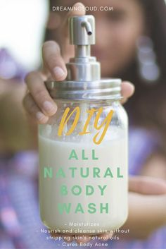 DIY body wash for summer| dreamingloud.com DIY body wash with Shea butter, aloevera, honey, diy skin care recipes , natural beauty recipes, summer natural beauty