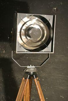 Reflektor VEB NARVA Berlin 1000W loft