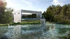 Competition, Concrete, Cooper, View, Pond, Memorial, SandHook, Reflection, Puse, Park, Urban, Design, Shadow, Graphic, Render, Vray, Sketchup, Photoshop, Post edit, Architecture, Art