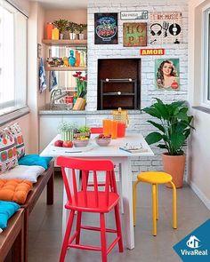 Os móveis coloridos vieram com tudo e para ficar! Inspire-se!