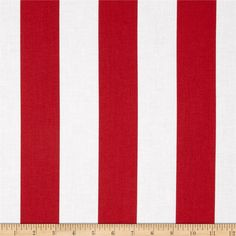 "Riley Blake 2"" Stripe Red from @fabricdotcom - for that one romper"