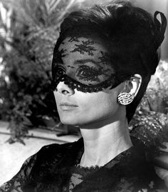 Just Look at This Lace Mask!
