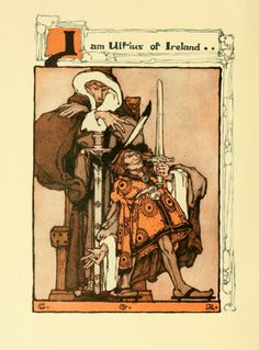 "Old Books And Illustrations ""A lady of king Arthur's court ; being a romance of the Holy Grail"", by Sara Hawks Sterling. Philadelphia, G. W. Jacobs & Co. Pictured by Clara Elsene Peck.(1883-1968). Published 1907."
