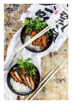 Pork / vegan version stir-fry