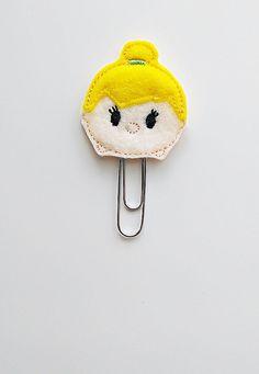 Tsum Tsum Tinkerbell Felt Paperclip | Bookmark | Clip | Planner Accessories | Feltie | Planner Clip | Paper Clip | Feltie Paper Clip | Tink