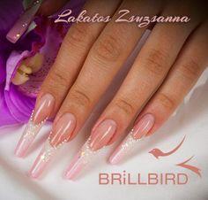 . Nailart, The Art Of Nails, Nail Photos, Natural Eyes, Stiletto Nails, Long Nails, Icing, Nail Designs, Pastel