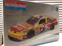 Monogram Joe Ruttman Dinner Bell  #75 Olds NASCAR 1/24th Model Kit Sealed 1992 #Monogram