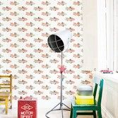 Behang kinderkamer vliegtuigjes Studio Ditte - BN Wallcoverings