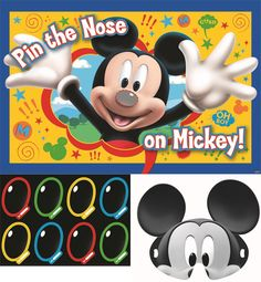 Mickey Mouse Party Game | 1 ct
