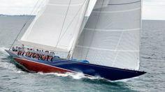 "America's Cup, J-Class Sailboat ""Endeavor"""