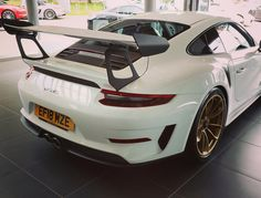 Beautiful new GT3RS at @porsche_colchester awaiting collection by @carcrazedfool . Think we've got all the colours covered between the…