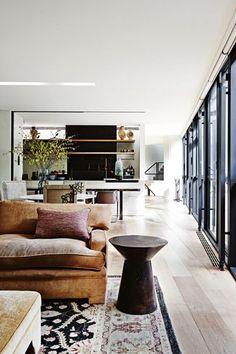 open flow living area.