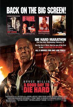 Die Hard Marathon in Theatres