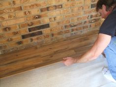 White laminate flooring underlayment Best Picture For mohawk laminate flooring For Your Taste You are looking for something, and it is going to tell you exactly what you are looking for, and you didn' Laminate Flooring Basement, Installing Laminate Flooring, Vinyl Plank Flooring, Hardwood Floors, Pergo Laminate, Removing Baseboards, Flooring Sale, Flooring Ideas, Flooring Types