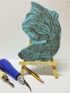 Alma de Torres: CARVADO DE SELLOS: El pez
