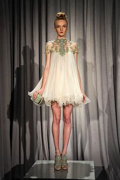 Marchesa Spring 2011 Runway - Marchesa Ready-To-Wear Collection
