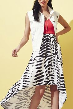pretty dress and denim jacket  http://rstyle.me/n/iz8u9pdpe